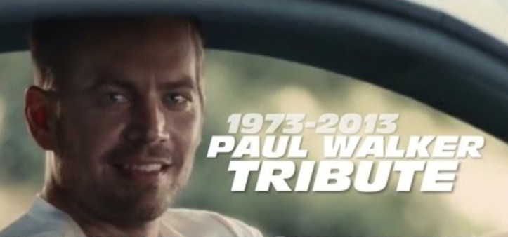Velozes e Furiosos 7 - Tributo a Paul Walker