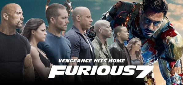 Velozes e Furiosos 7 ultrapassa bilheteria de Homem de Ferro 3
