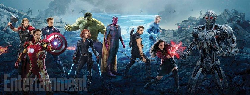 Vingadores - A Era de Ultron - Entertainment Weekly Banner