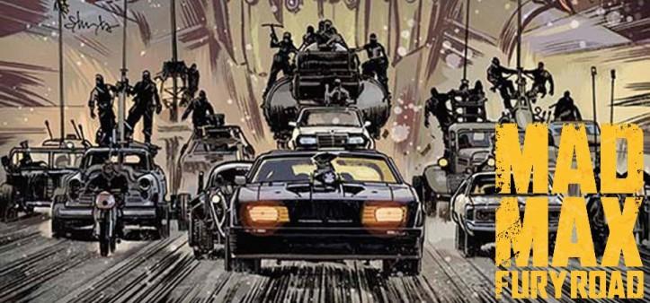 Mad Max - Fury Road, The Wasteland, Imperator Furiosa, The Coma-Doof Warrior, quadrinhos e mais