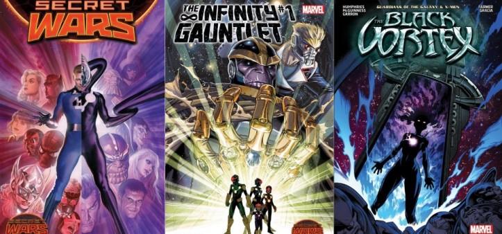 Destaques do Forever #10 - Guerras Secretas, Desafio Infinito e Vórtex Negro