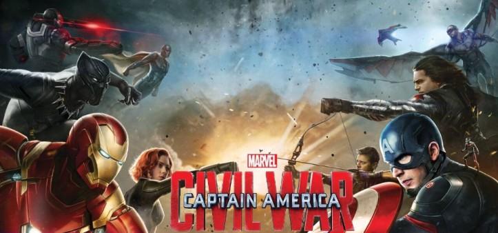 Artes Conceituais mostram lados da guerra (Capitão América - Guerra Civil)