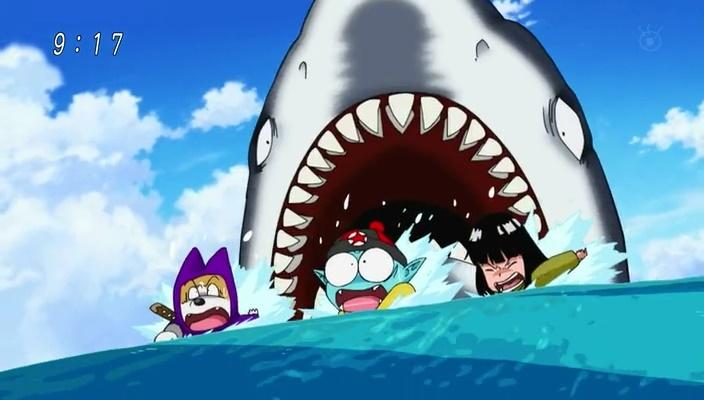 Gangue do Pilaf Vs. Tubarão (Dragon Ball Super - Episódio 4)