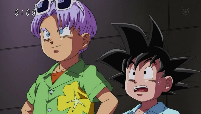 Goten e Trunks (Dragon Ball Super - Episódio 4)