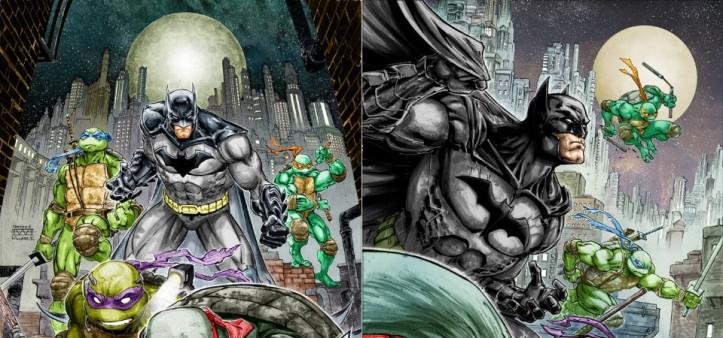 Batman e Tartarugas Ninja cross-over em 2015 nos quadrinhos