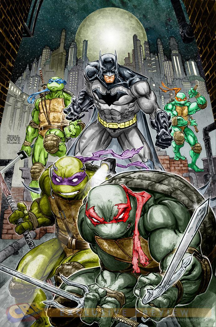Batman & Tartarugas Ninja - Capa 1