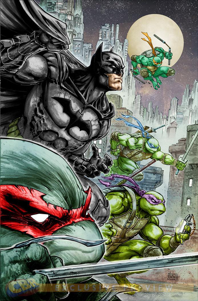 Batman & Tartarugas Ninja - Capa 2