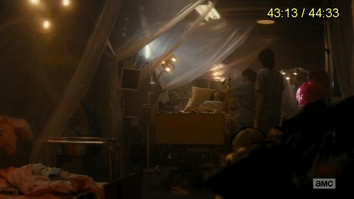 Griselda morre (Fear The Walking Dead - S01E05)
