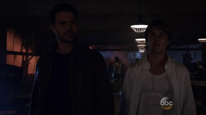 Agent Ward e Werner Von Strucker (Marvel´s Agents of Shield  S03E02)
