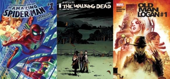 Destaques dos Quadrinhos #2 - Espetacular Homem-Aranha, The Walking Dead e Velho Logan