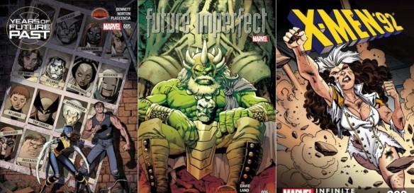 Destaques dos Quadrinhos #3 - Anos de um Futuro Esquecido, Futuro Imperfeito e X-Men ´92
