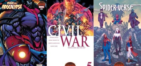 Destaques dos Quadrinhos #4 - A Era do Apocalipse, Guerra Civil e Universo-Aranha