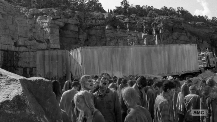 Flashbacks em preto e branco (The Walking Dead - S06E01)