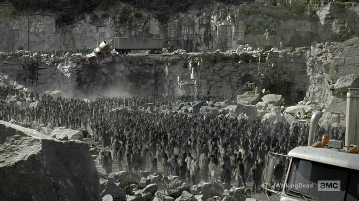 Milhões de zumbis (The Walking Dead - S06E01)