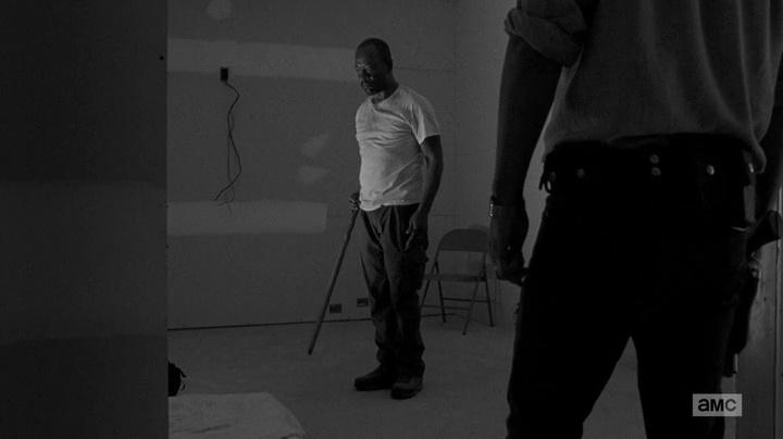 Morgan, Mestre Monge (The Walking Dead - S06E01)