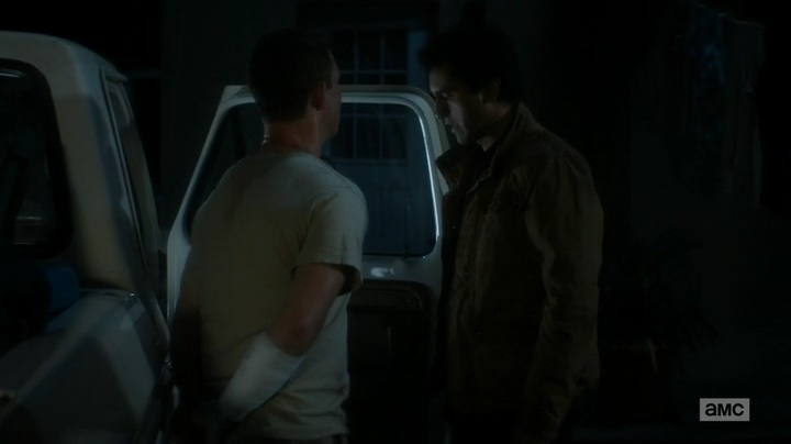 Travis e Andy (Fear The Walking Dead - S01E06)