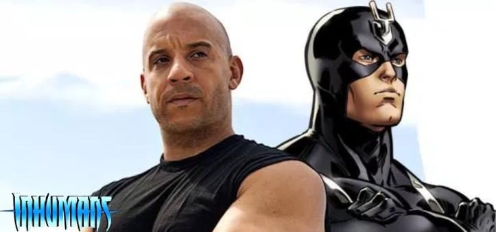 Vin Diesel pode ser o Raio Negro na Marvel