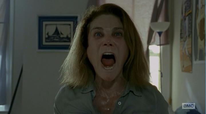 Deanne morre (The Walking Dead - S06E08)