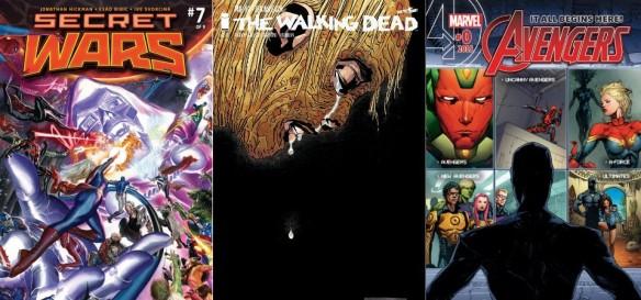 Destaques do Quadrinhos #9 - Guerras Secretas, The Walking Dead e Vingadores