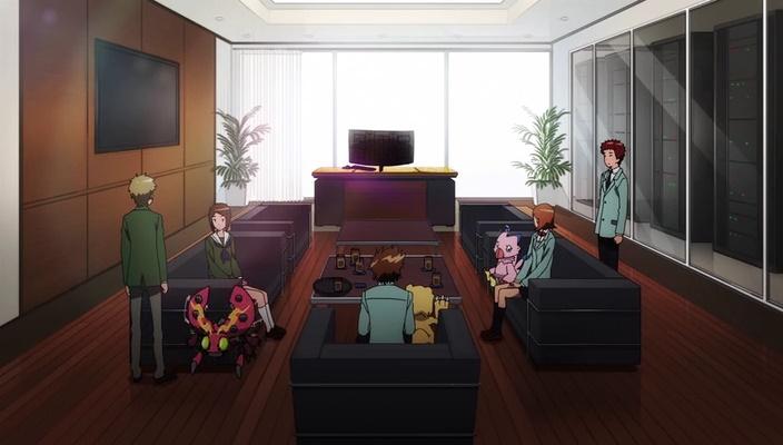 Digiescolhidos reunidos novamente (Digimon Adventure tri - Episódio 03)