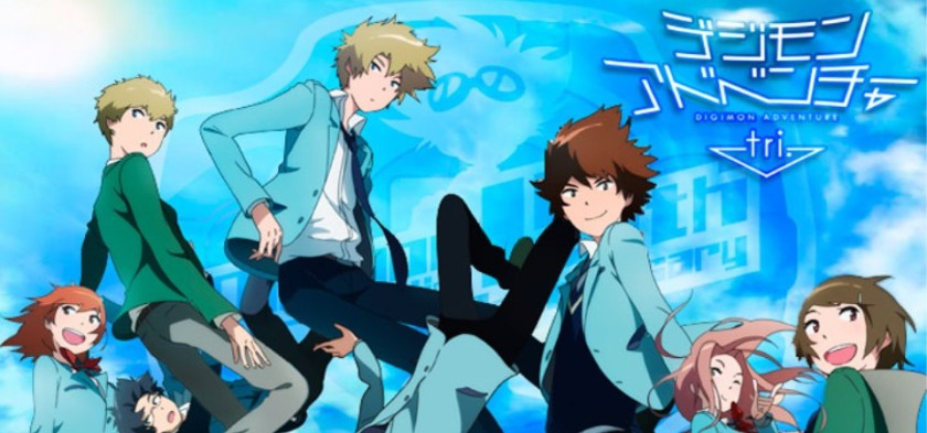Digimon Adventure tri - Ova 01, 02, 03 e 04