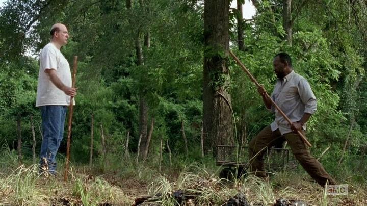 Eastman, Morgan e a última lição (The Walking Dead - S06E04)