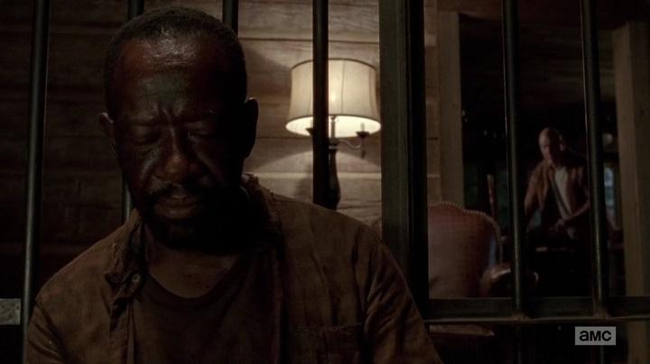 Morgan e a prisão da porta aberta (The Walking Dead - S06E04)