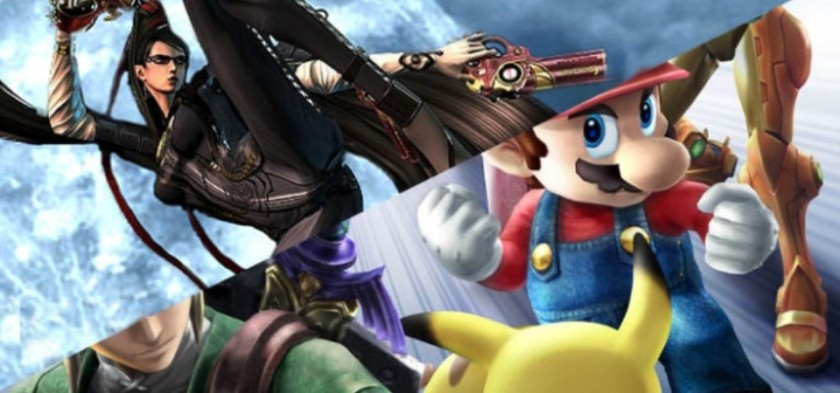 Bayonetta e Coriin no Super Smash Bros 3DS Wii U