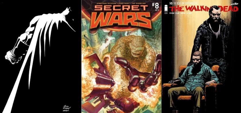 Destaques do Quadrinhos #16 - Cavaleiro das Trevas 3, Guerras Secretas e The Walking Dead