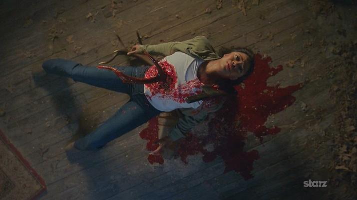 Morte de Amanda Fisher (Ash Vs. Evil Dead - S01E08)
