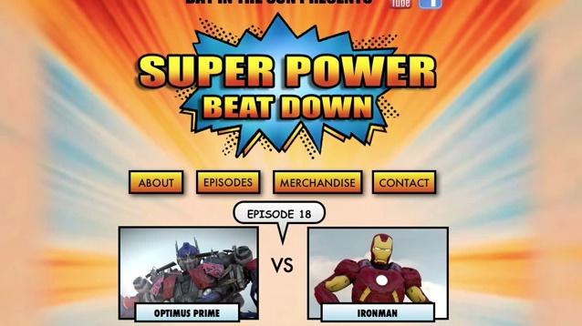 Optimus Prime Vs. Homem de Ferro - Super Power Beat Down - Episódio 18 - Preview