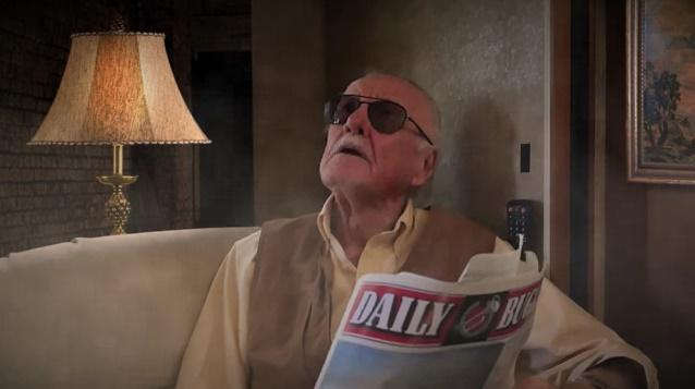 Stan Lee aparece em Homem-Aranha Vs. Darth Maul - Super Power Beat Down - Episódio 17