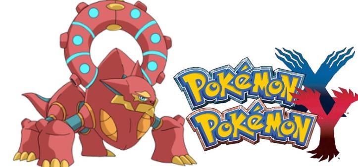 Volcanion anunciado para Pokemon XY