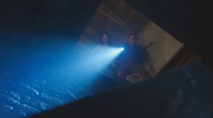 Descida no porão da cabana (Ash Vs. Evil Dead - S01E10)