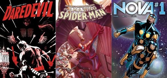 Destaques do Quadrinhos #23 - Demolidor, Homem-Aranha e Nova