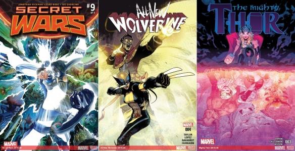 Destaques do Quadrinhos #25 - Guerras Secretas, Wolverine e Thor