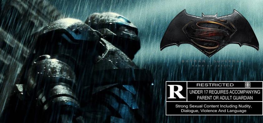 Batman Vs. Superman - A Origem da Justiça pode ganhar versão censura R no bluray