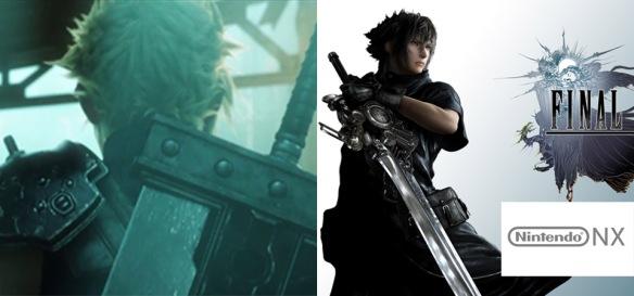 Final Fantasy VII Remake e Final Fantasy XV podem sair para Nintendo NX