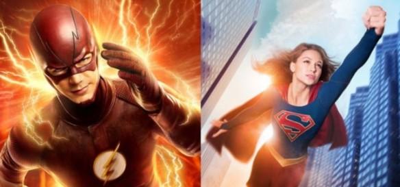 Flash e Supergirl terão cross-over na televisão