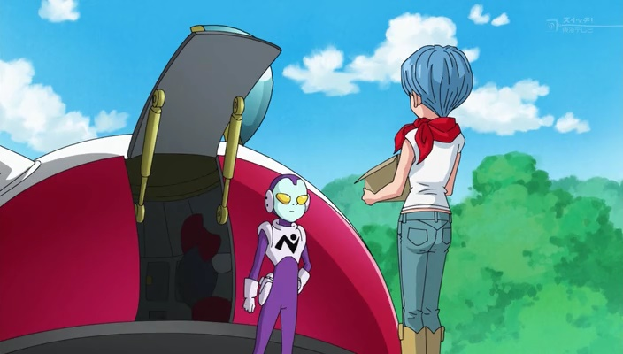 Jaco e Bulma (Dragon Ball Super - Episódio 31)