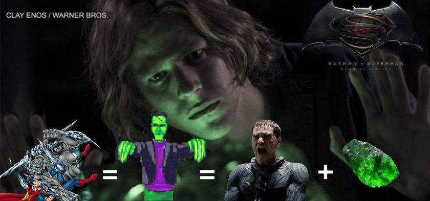 Batman Vs. Superman - A Origem da Justiça - Apocalipse é um Frankenstein de Zod com Kriptonita