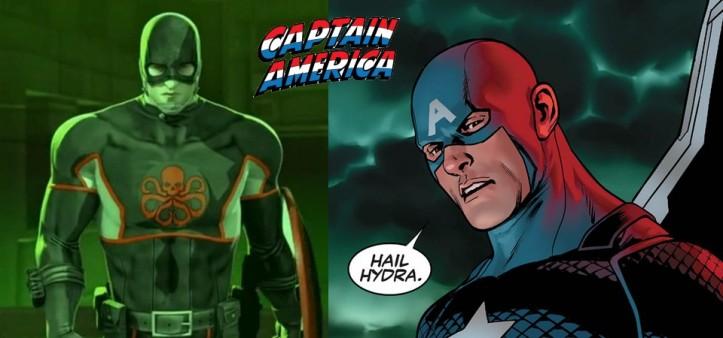 Capitão América revela-se um Agente da Hydra nos quadrinhos