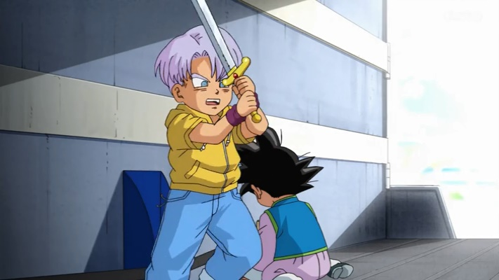 Espada de Trunks (Dragon Ball Super - Episódio 44)