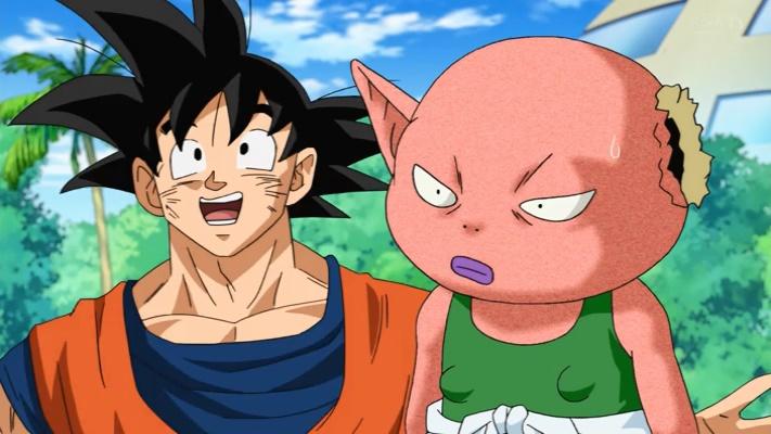 Goku e o falso Monaca (Dragon Ball Super - Episódio 42)