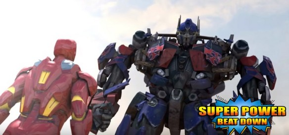 Homem de Ferro Vs. Optimus Prime - Super Power Beat Down - Episódio 18