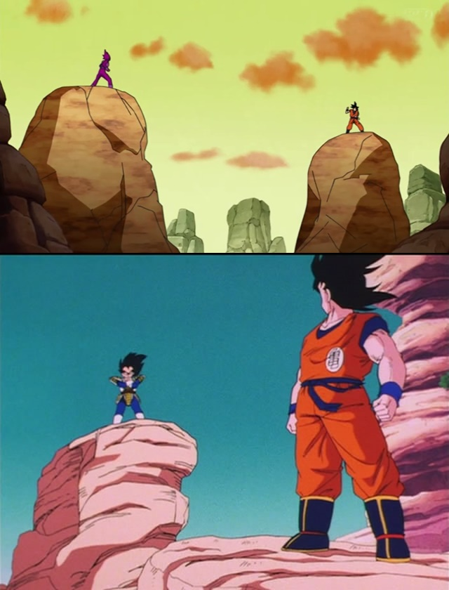 Goku Vs. Vegeta (Dragon Ball Z e Dragon Ball Super)