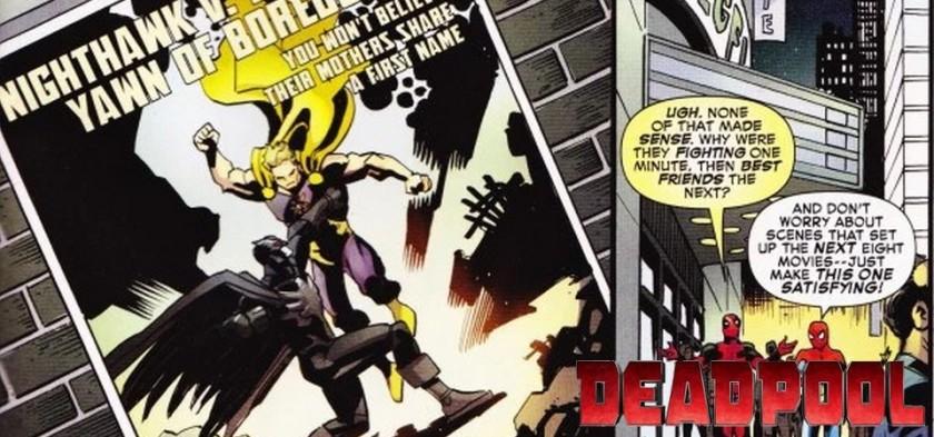 Homem-Aranha e Deadpool zoam Batman Vs. Superman nos quadrinhos