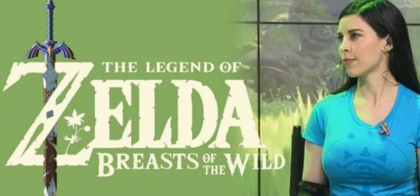 Meme de The Legend of Zelda - Breasts of the Wild