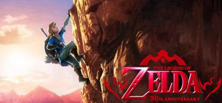 Nova artework de The Legend of Zelda UX