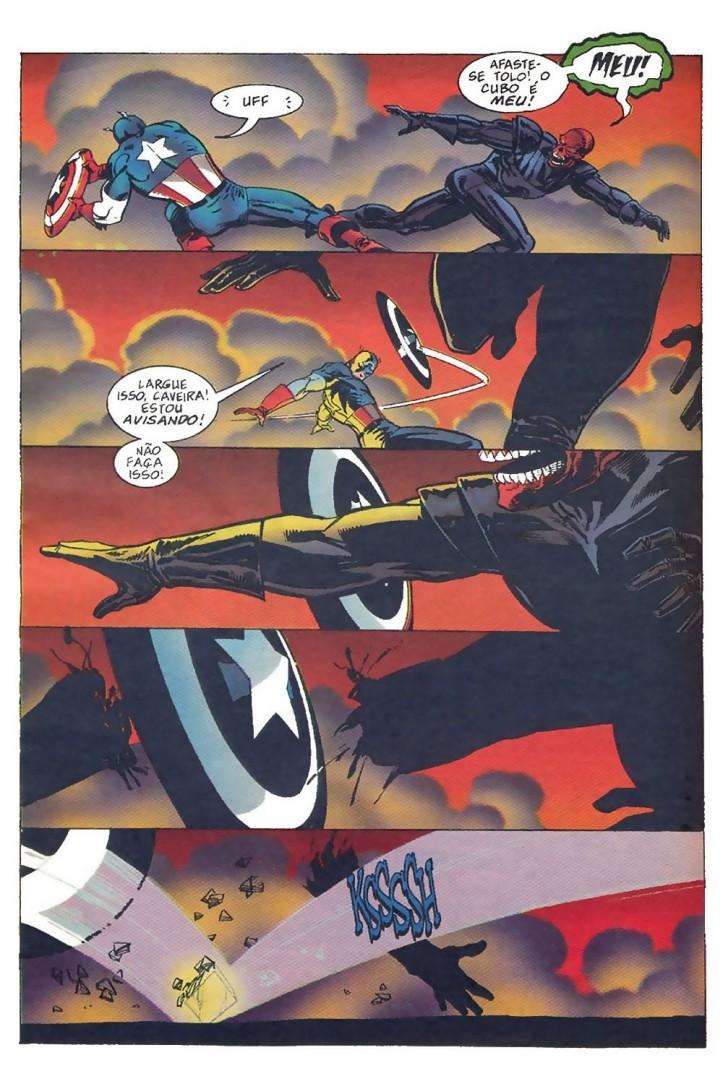 Capitão América - Operação Renascer de Mark Waid (Marvel 98 da Editora Abril)